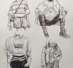 ☽ Evi 🌙 ☾ - kunst skizzen - Source by mateasc. - ☽ Evi 🌙 ☾ – kunst skizzen – Source by mateasc… ☽ Evi 🌙 ☾ – kunst skizzen – Source by mateaschler anime Inspiration Art, Art Inspo, Art Drawings Sketches, Cool Drawings, Pencil Drawings, Pretty Art, Cute Art, Character Illustration, Illustration Art