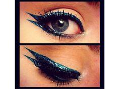 Eyeliner doppio glitter