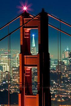Golden Gate Bridge, North Tower, San Francisco