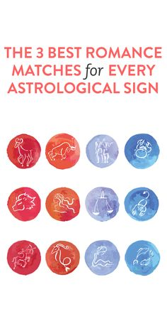 The best romantic matches for your astrological sign
