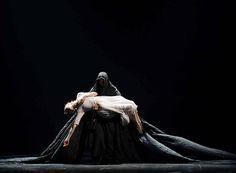 crystalline-pleasure:  Eleonora Abbagnato and Alessio Carbone  The Little Match Girl Passion Simon Valastro @Paris Opera Ballet   Julien Benhamou
