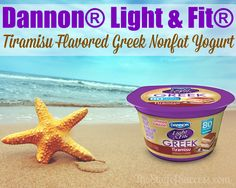 Dannon® Light & Fit® Brings Us Tiramisu Flavored Greek Nonfat Yogurt #IHeartTiramisu #IC #ad
