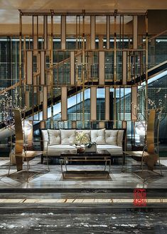 Best Place to find hotel lobby design Lounge Design, Bar Lounge, Lobby Lounge, Hotel Lobby Design, Hotel Interiors, Office Interiors, Luxury Interior Design, Interior Architecture, Luxury Restaurant