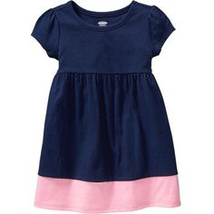 Old Navy Color Block Jersey Dresses For Baby Size 12-18 M - Goodnight... ($8) ❤ liked on Polyvore featuring kids