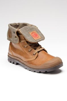 Baggy Leather Boot