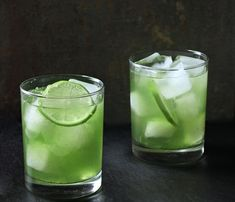 Dandelion-Lime Cooler - interesting sounding #recipe made with dandelion greens and agave syrup