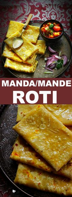 How to make manda Roti.