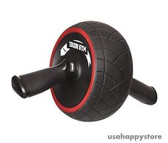 Ab Wheel Roller Machine Core Abdominal Exercise Fitness Workout Gym Equipment #IronGym