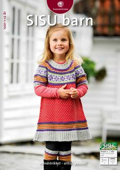 abitino per bimba. Knitting For Kids, Baby Knitting Patterns, Baby Patterns, Crochet Baby, Knit Crochet, Baby Barn, Bebe Baby, Lana, Kids Outfits
