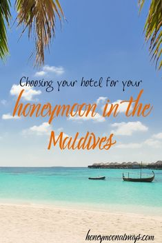 Considering a honeymoon in the Maldives? We give you all the best tips on choosing the right hotel for your stay! Honeymoon Style, Honeymoon Planning, Best Honeymoon, Romantic Honeymoon, Romantic Getaways, Honeymoon Destinations, Romantic Travel, Amazing Destinations, Honeymoon Ideas