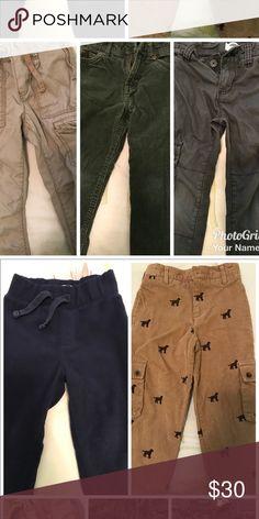 Boy Pants Cargo, fleece and cords Bottoms Casual