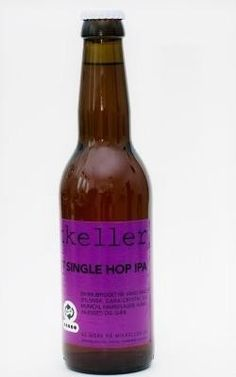 Cerveja Nelson Sauvin Single Hop IPA, estilo India Pale Ale (IPA), produzida por Mikkeller, Dinamarca. 6.9% ABV de álcool.