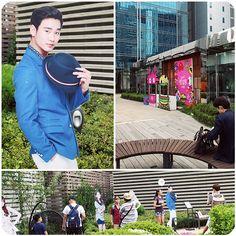 more Kim SooHyun in the SKYPARK <3 how handsome hahaha