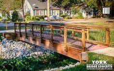 Timber Trail Bridge: Hynson Bayou - Alexandria, LA