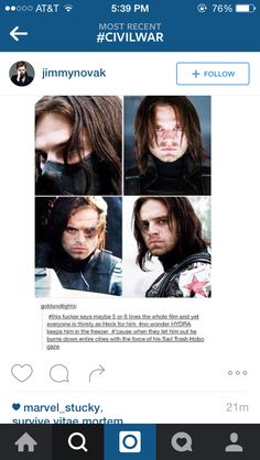 Well I know why Hydra kept him locked up now. (;