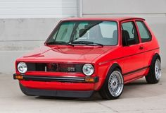1979 VW Rabbit, redone as a GTI Maintenance of old vehicles: the material for new cogs/casters/gears could be cast polyamide which I (Cast polyamide) can produce Volkswagen Golf Mk1, Golf 1, Vw Mk1 Rabbit, Jetta Mk1, Bbs, Automobile, Sweet Cars, Retro Cars, Cool Cars