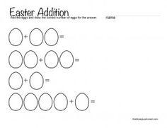 easter math busy bee addition addition worksheets and worksheets. Black Bedroom Furniture Sets. Home Design Ideas