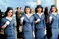 Halloween Costume Idea: Pan Am Flight Attendant The Americans, Mr Selfridge, Keri Russell, Don Draper, Dita Von Teese, Madison Avenue, Sophia Loren, Royal Enfield, Gwen Stefani