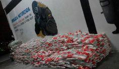 Muchos kilos de azúcar y arroz en bus de Expresos Occidente