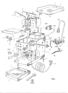 """1984 patent drawing for """"Boxing"""" hand puppets (the patent lapsed in This was based in part on toy boxing figures invented in the Breville Espresso Machine, Espresso Machine Reviews, Best Espresso Machine, Cappuccino Machine, Espresso Maker, Cappuccino Coffee, Coffee Shop, Coffee Lovers, Coffee Maker"""