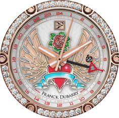 FRANCK DUBARRY Une friandise horlogère au féminin pour associer les montres à la Journée de la femme !
