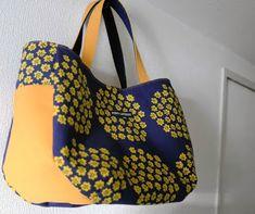 PUPU LAUKKU: marimekko PUKETTIでぷっくりマザーズバッグ Purse Patterns, Marimekko, Couture, Burlap, Pouch, Reusable Tote Bags, Handbags, Purses, Sewing