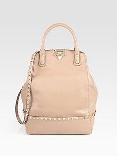 Valentino - Rockstud New Dome Top Handle Bag