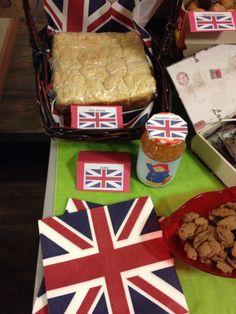 Turning 1 with Paddington. Tea buns and marmalade