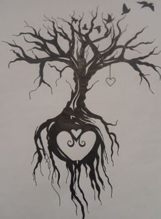 Tree of life tattoo by EmmyBunny.deviantart.com on @DeviantArt