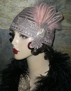 1920s cloche American Fascinators