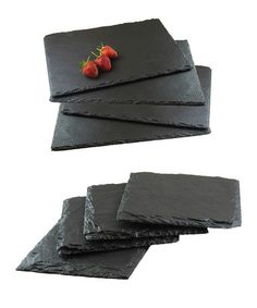 Eight-Piece Set of Slate Placemats & Coasters by Slate and Ceramic on #zulilyUK today!