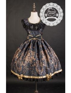 Previous Clove ~Unicorn Maiden~ Hime Sleeved Lolita JSK Short Version