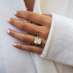 Radiant Engagement Rings, Cushion Cut Engagement Ring, Wedding Rings Solitaire, Dream Engagement Rings, Cushion Cut Diamonds, Cushion Cut Diamond Ring, Cushion Ring, White Gold Rings, Diamond Cuts