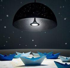 15 lamparas para darle un toque psicodélico a tu hogar