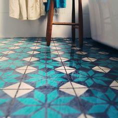 Bathrom floor