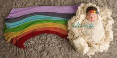 """This Beautiful """"Rainbow Baby"""" Photo Is Joyful and Heartbreaking All At Once"""