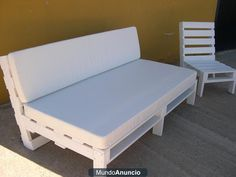 Sofá cama de Palets reciclados Estilo Chill out - baleares - Palma de Mallorca