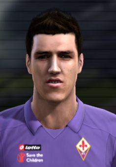 Jovetić face for Pro Evolution Soccer 2012
