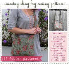 Sling Bag Sewing Pattern Free Pattern!