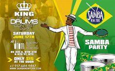 Samba é destaque em evento de New York