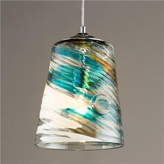 Sea Breeze Bucket Pendant Light