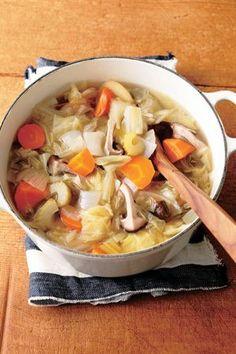 味を変えて6日で食べ切る! 野菜不足解消「ベジ充スープ」に注目!
