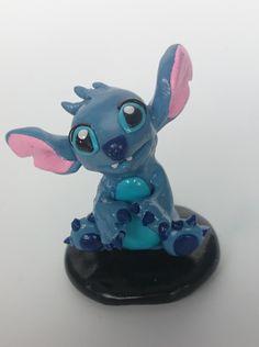 Polymer Clay Stitch Fan Art Twisted & Troublesome Friends  January 2015