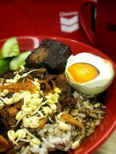 Nasi Rawon Komplit #indonesianfood