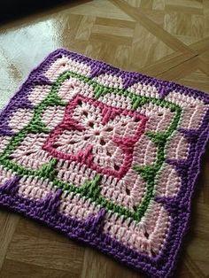 12 Granny Square Crochet Pattern Larksfoot Inspired 12 Granny Square Pattern From Home Berna 12 Granny Square Crochet Pattern Granny Squares Knitting Bee 12 Free Knitting Patterns. 12 Granny Square Crochet Pattern 12 Free Crochet Patterns For . Point Granny Au Crochet, Crochet Squares Afghan, Crochet Blocks, Crochet Blanket Patterns, Knitting Patterns, Poncho Patterns, Afghan Patterns, Block Patterns, Free Knitting
