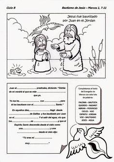 Resultado de imagen de simbolos del bautismo para niños de infantil