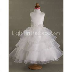 this is a tea length option for a mini bride