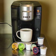 Coffee Brewer, Coffee Cups, K Cup Flavors, Single Serve Coffee, Coffee Branding, Coffee Drinkers, Tea Blends, Break Room, Business Goals