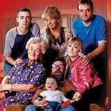 The Royle Family.   One of the earliest drama comedies, It baffled people when it first aired in 1998 making people wonder if it was real or not. The programme followed the lives of a family cantered around one home. Like the best domestic based comedy/drama's the humour is mostly verbal, derived from the everyday conversations we all have which makes it so easy to relate to. My favourite parts are when they actually show they care about each other i.e. (Christmas special 1999).