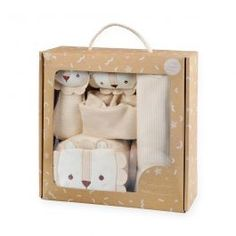 Special Price $79.90 was $93.90 Baby Gift Box, Baby Gifts, Unique Baby Shower Gifts, Pacifier Holder, Baby Learning, Neutral Palette, Gifts For New Moms, Newborn Gifts, Animal Design